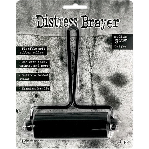 Ranger - Brayer Roller - Tim Holtz Distress Black - Medium - Arriving Late March