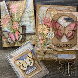 beautiful samples by the Tim Holtz Design Team