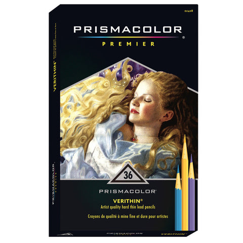 Prismacolor Premier Verithin - 36 Coloured Pencils