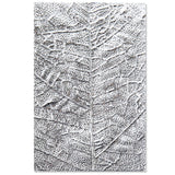 Textured Impressions by Sizzix - 3D Embossing Folder - Leaf Veins