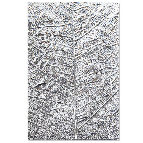 Textured Impressions by Sizzix - 3D Embossing Folder - Leaf Veins - NEW!