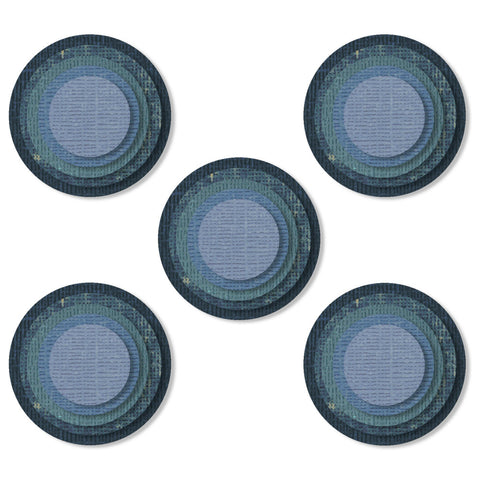 Tim Holtz Thinlits Die Cutting Set by Sizzix - Stacked Tiles Circles - NEW!