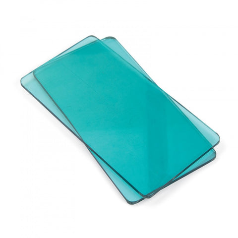 1 Pair of Aqua Blue Cutting Pads (2 plates)