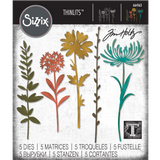 Wildflower Stems (no.1) Sizzix Die Cutting Templates by Tim Holtz