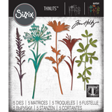 Wildflower Stems (no.2) Sizzix Die Cutting Templates by Tim Holtz