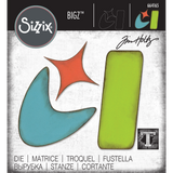 Atomic Retro Shapes ... Sizzix Bigz Die Cutting Template by Tim Holtz