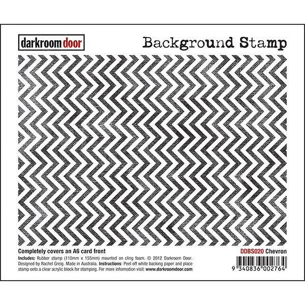 Background Stamp - Chevron - Darkroom Door