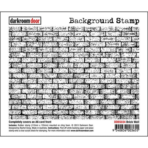 Background Stamp - Brick Wall - Darkroom Door
