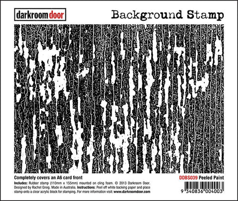 Background Stamp - Peeled Paint - Darkroom Door
