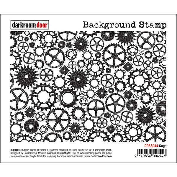Background Stamp - Cogs - Darkroom Door