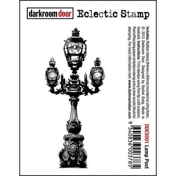 Eclectic Stamp - Lamp Post - Darkroom Door
