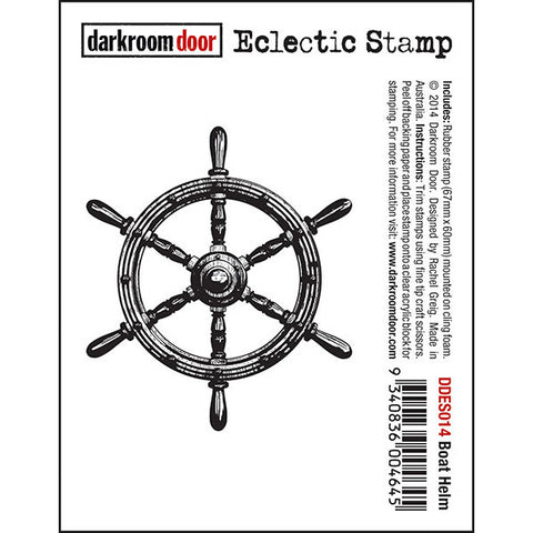 Eclectic Stamp - Boat Helm - Darkroom Door