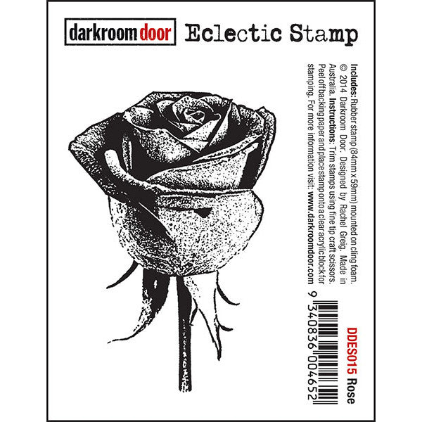Eclectic Stamp - Rose - Darkroom Door