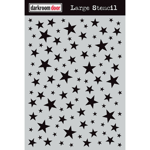 Darkroom Door Stencil - Large - Starry Night