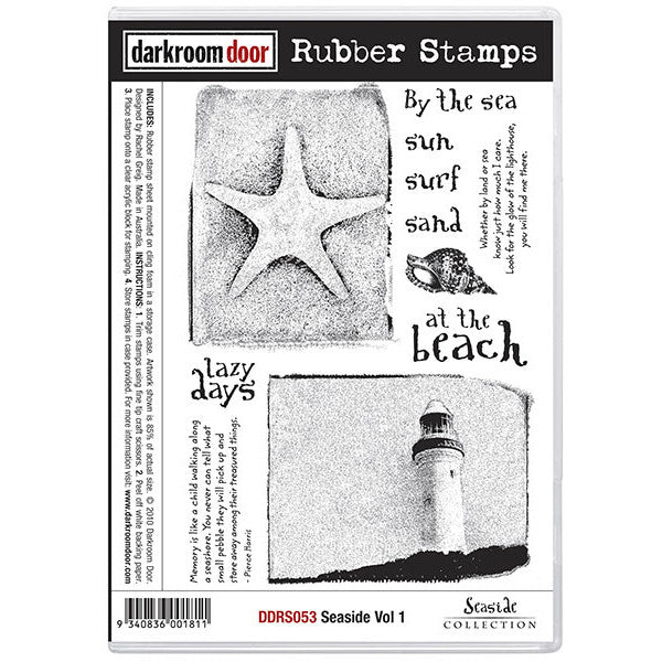 Rubber Stamp Set - Seaside vol 1 - Darkroom Door