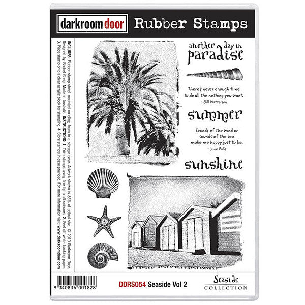 Rubber Stamp Set - Seaside vol 2 - Darkroom Door