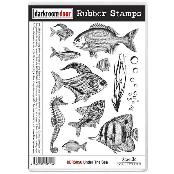 Rubber Stamp Set - Under the Sea - Darkroom Door