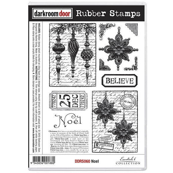Rubber Stamp Set - Noel - Darkroom Door