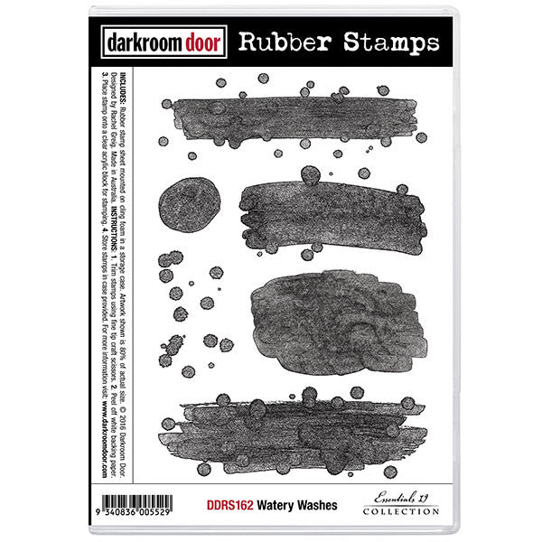 Darkroom Door Stamp Set - Watery Washes
