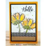 Rubber Stamp Set - Fine Flowers - Darkroom Door