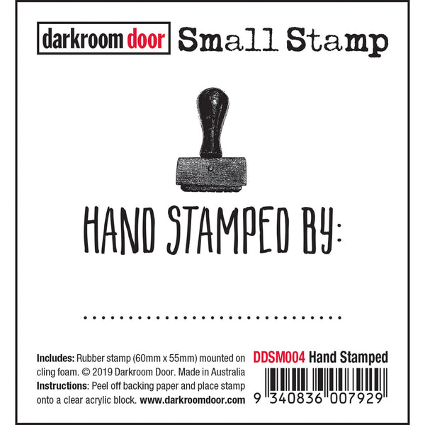 Hand Stamped ... Rubber Stamp by Darkroom Door