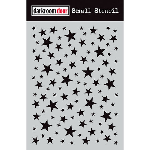 Darkroom Door Stencil - Small - Starry Night