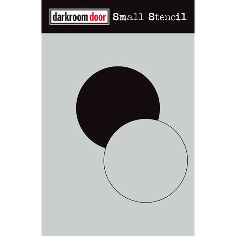 Darkroom Door Stencil and Mask - Small - Circle