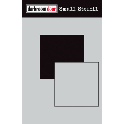 Darkroom Door Stencil and Mask - Small - Square