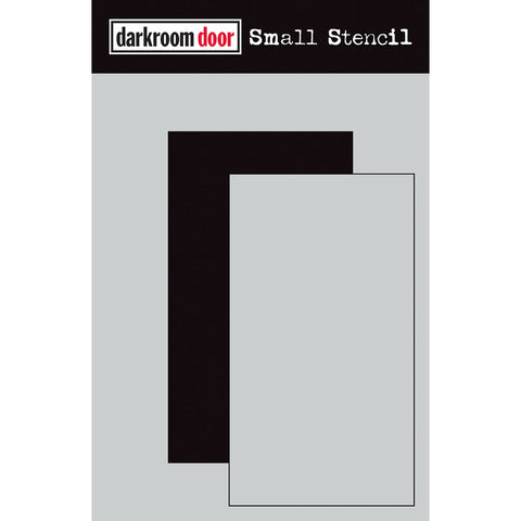 Darkroom Door Stencil and Mask - Small - Rectangle