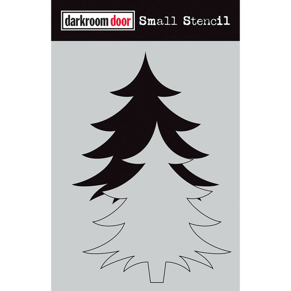 Darkroom Door Stencil and Mask - Small - Christmas Tree