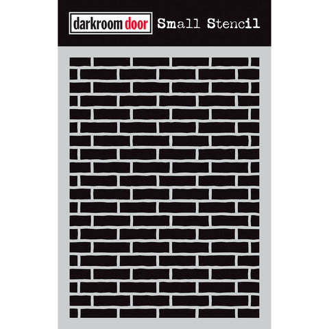 Darkroom Door Stencil - Small - Brick Wall