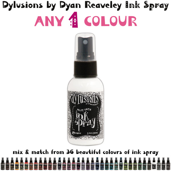Choose from 36 colours - Ranger's Dylusions by Dyan Reaveley Ink Spray from Art by Jenny