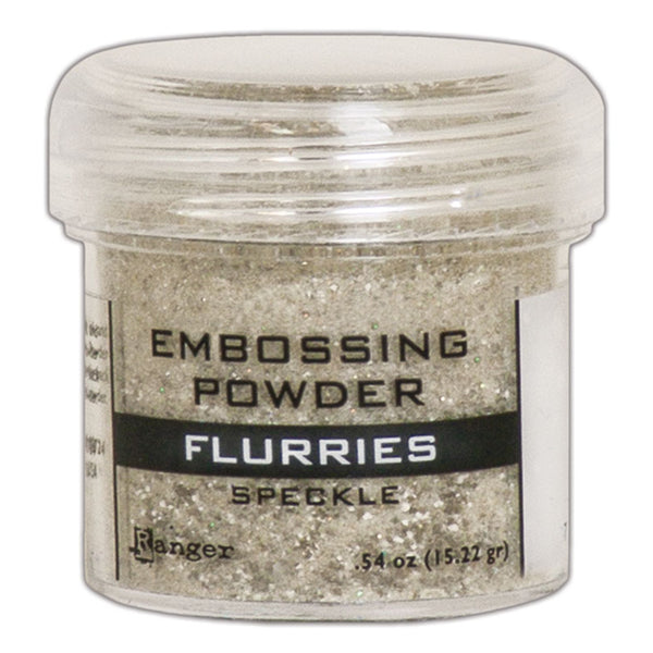 Flurries Speckle Embossing Powder by Ranger