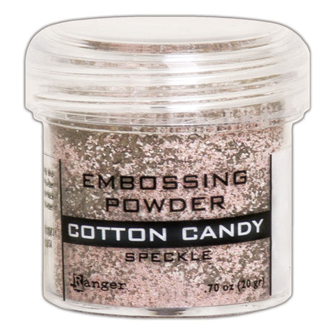 Cotton Candy Speckle Pink Embossing Powder by Ranger