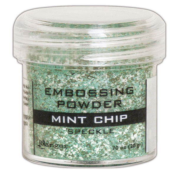 Mint Chip Speckle Green Embossing Powder by Ranger
