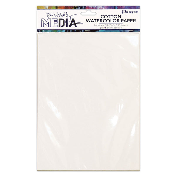 Dina Wakley Media Cotton Watercolor Paper for sale in Australia at ARt by Jenny