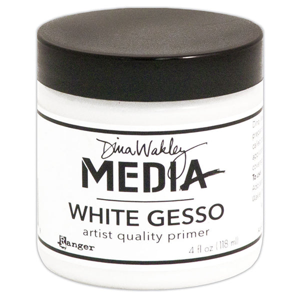 White Gesso ... 4oz - by Ranger and Dina Wakley Media.