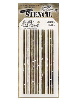 Tim Holtz Layering Stencil - Stripes