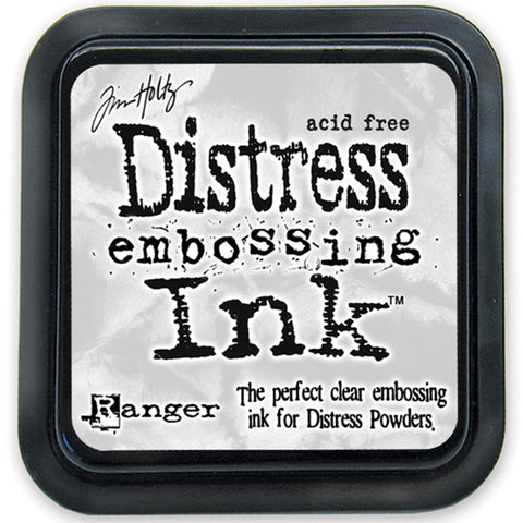 Tim Holtz Distress Ink - Clear Embossing Ink Pad