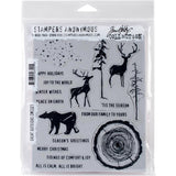 Great Outdoors - Tim Holtz Cling Rubber Stamps at Art by Jenny Australia