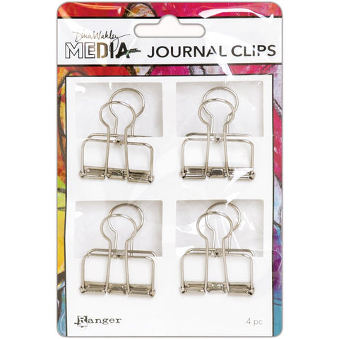 Metal Journal Clips ... by Dina Wakley Media and Ranger