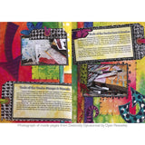 Learn techniques for art journaling with the book Distinctly Dylusional by Dyan Reaveley
