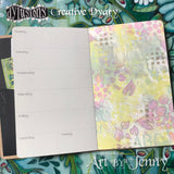 inside the Perpetual Diary and Planner by Dyan Reaveley