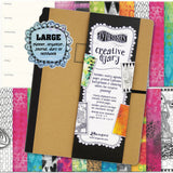 Dylusions Creative Dyary - Large 9x12 - Planner and Diary - Art Journal