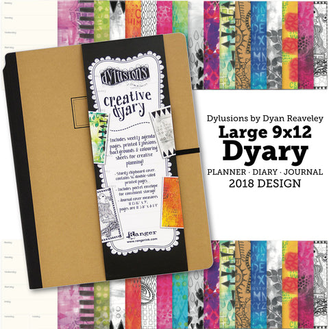 Large Dylusions Dyary by Dyan Reaveley