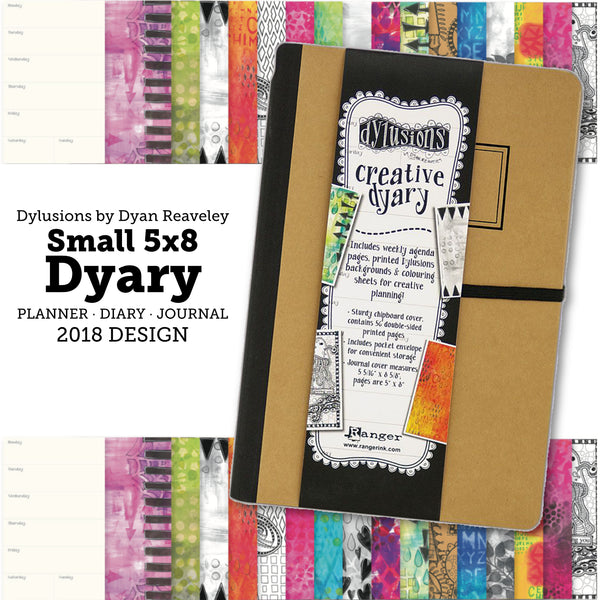 Small Dylusions Dyary by Dyan Reaveley