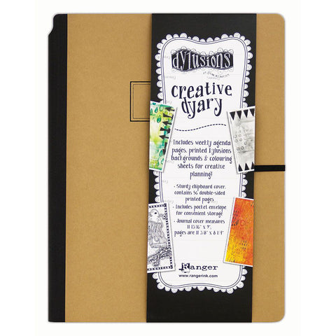 Dylusions Creative Dyary - Large 9x12 Journal Diary