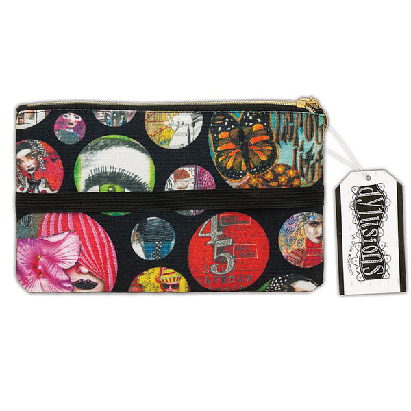 Dylusions by Dyan Reaveley - Accessory Bag with Strap