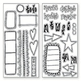 Dylusions Creative Dyary - Stamps - Borders