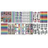 Dylusions Creative Dyary - Sticker Book - Collection 2 - 24 Pages